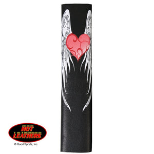Hot Leathers Heart and Wings Hair Glove