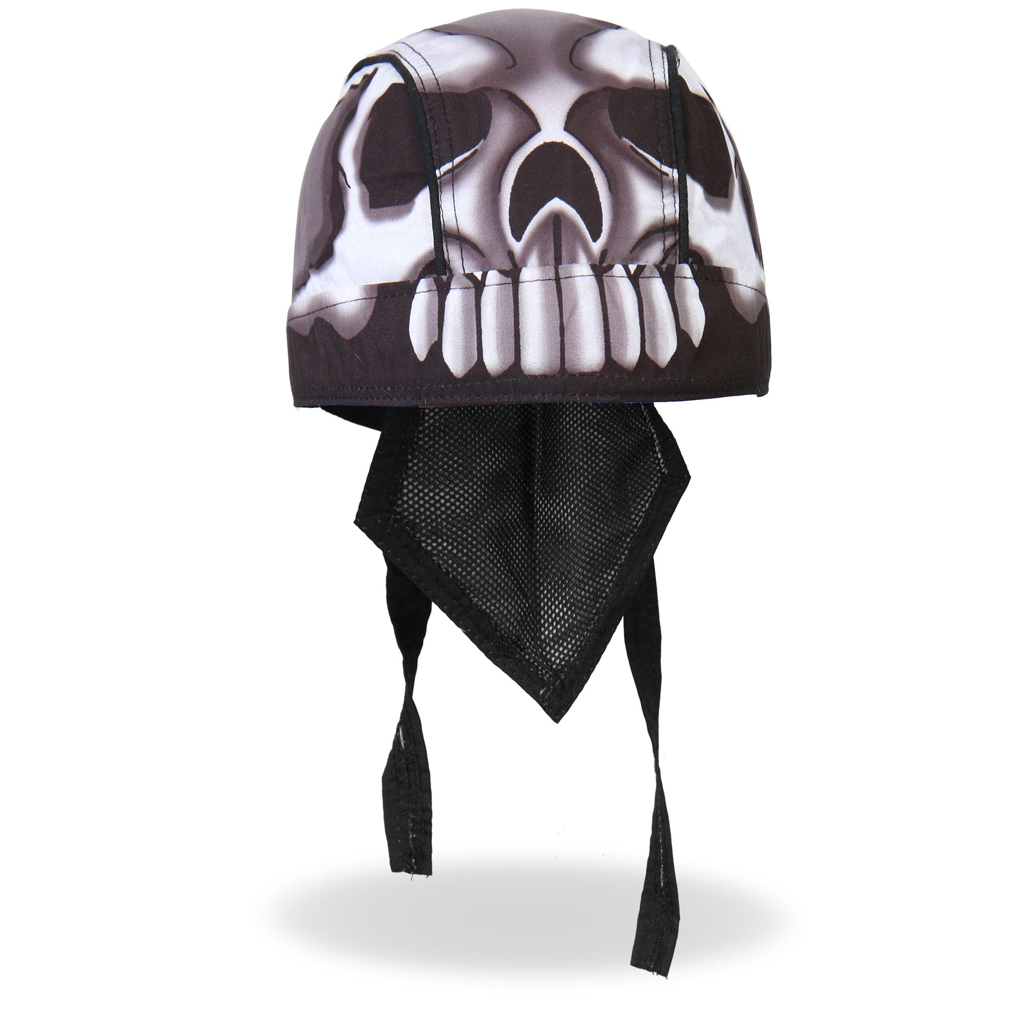 Hot Leathers Headwrap Skull