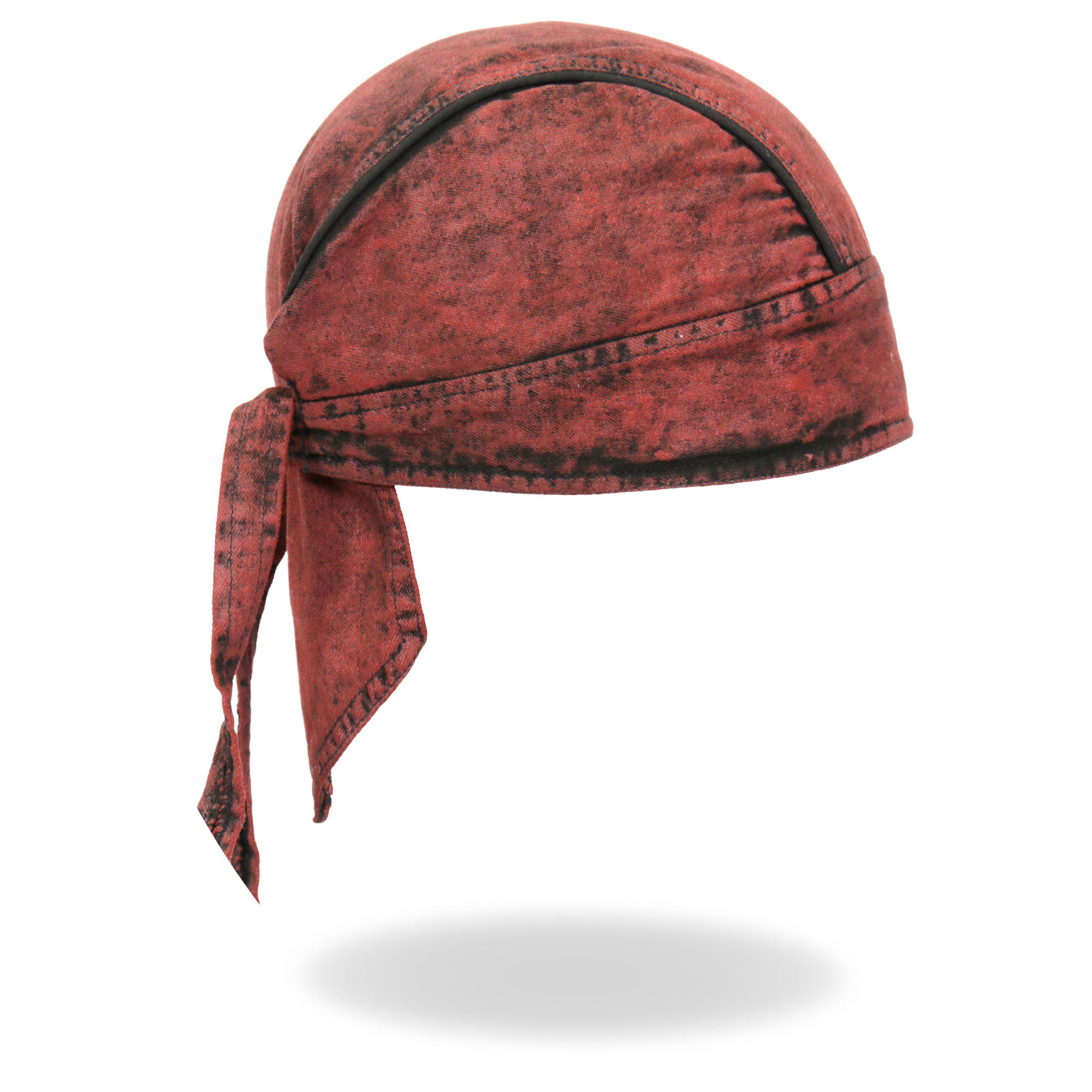 Hot Leathers Rust Dye Denim Headwrap