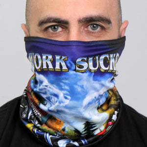 Hot Leathers Work Sucks Neck Gaiter