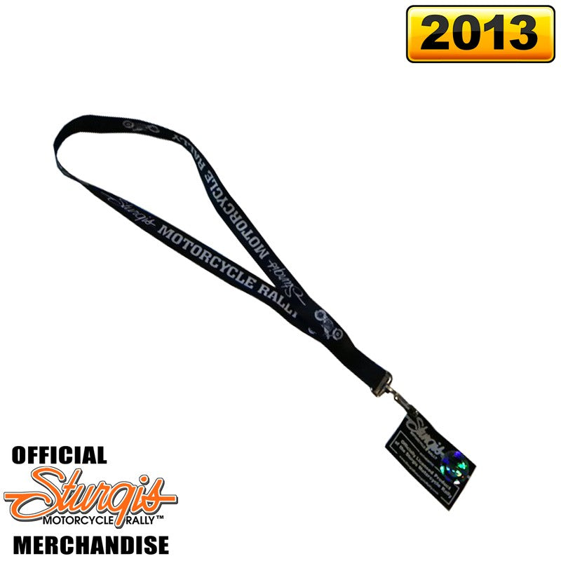 Official Sturgis Motorcycle Rally Lanyard