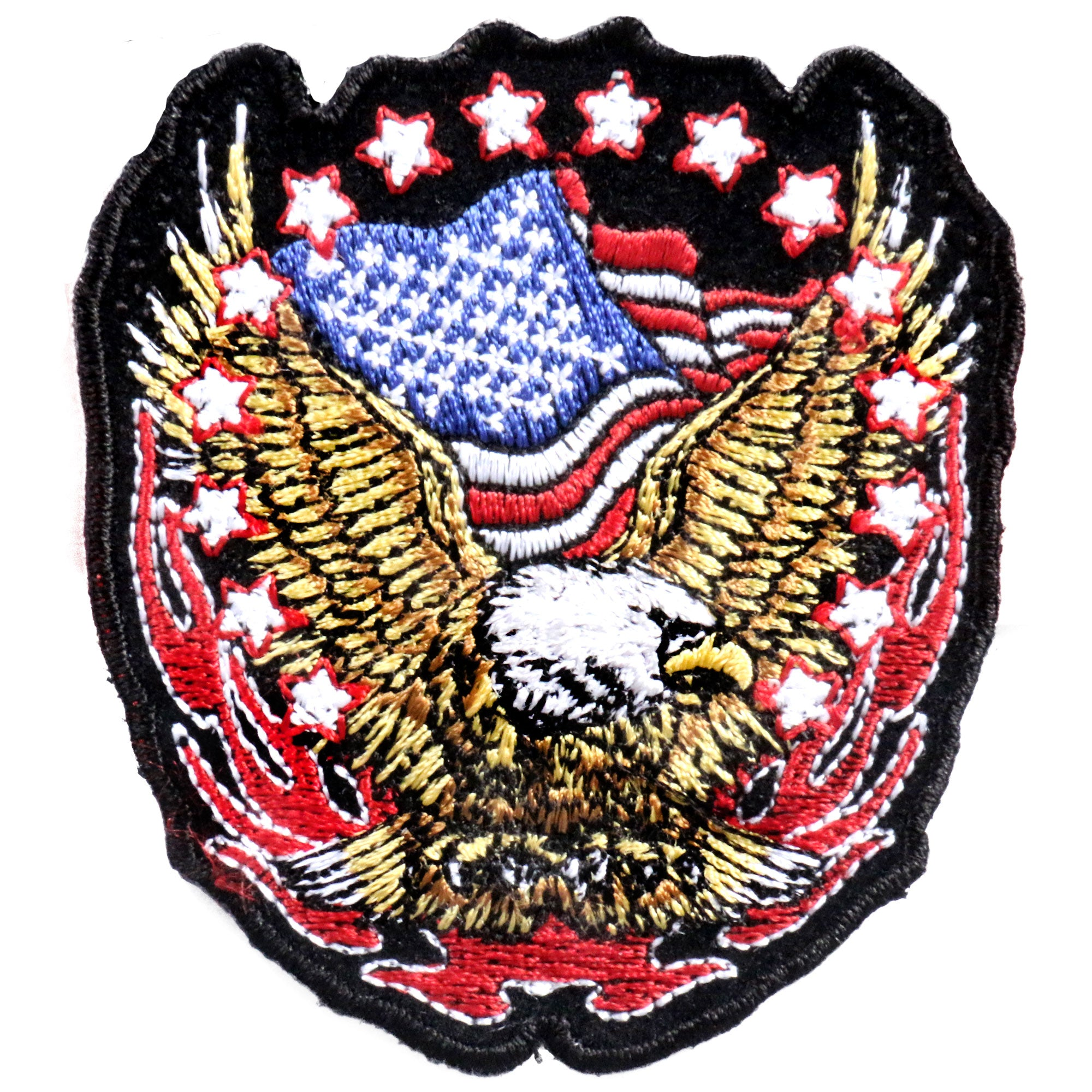 "Hot Leathers Patch Eagle 3"" X 3"""