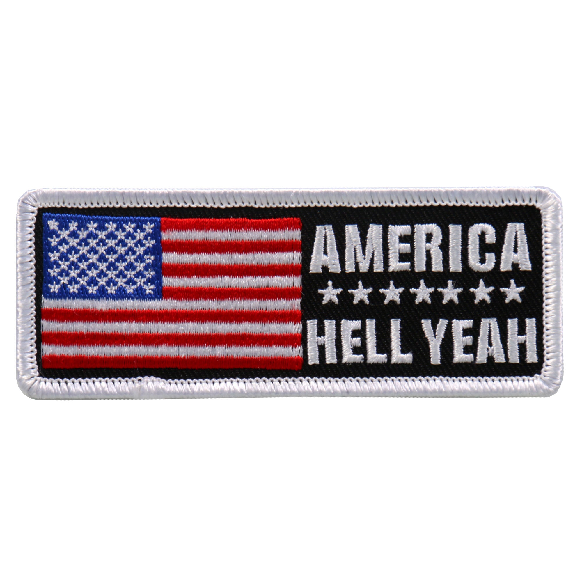 Hot Leathers America Hell Yeah Patch