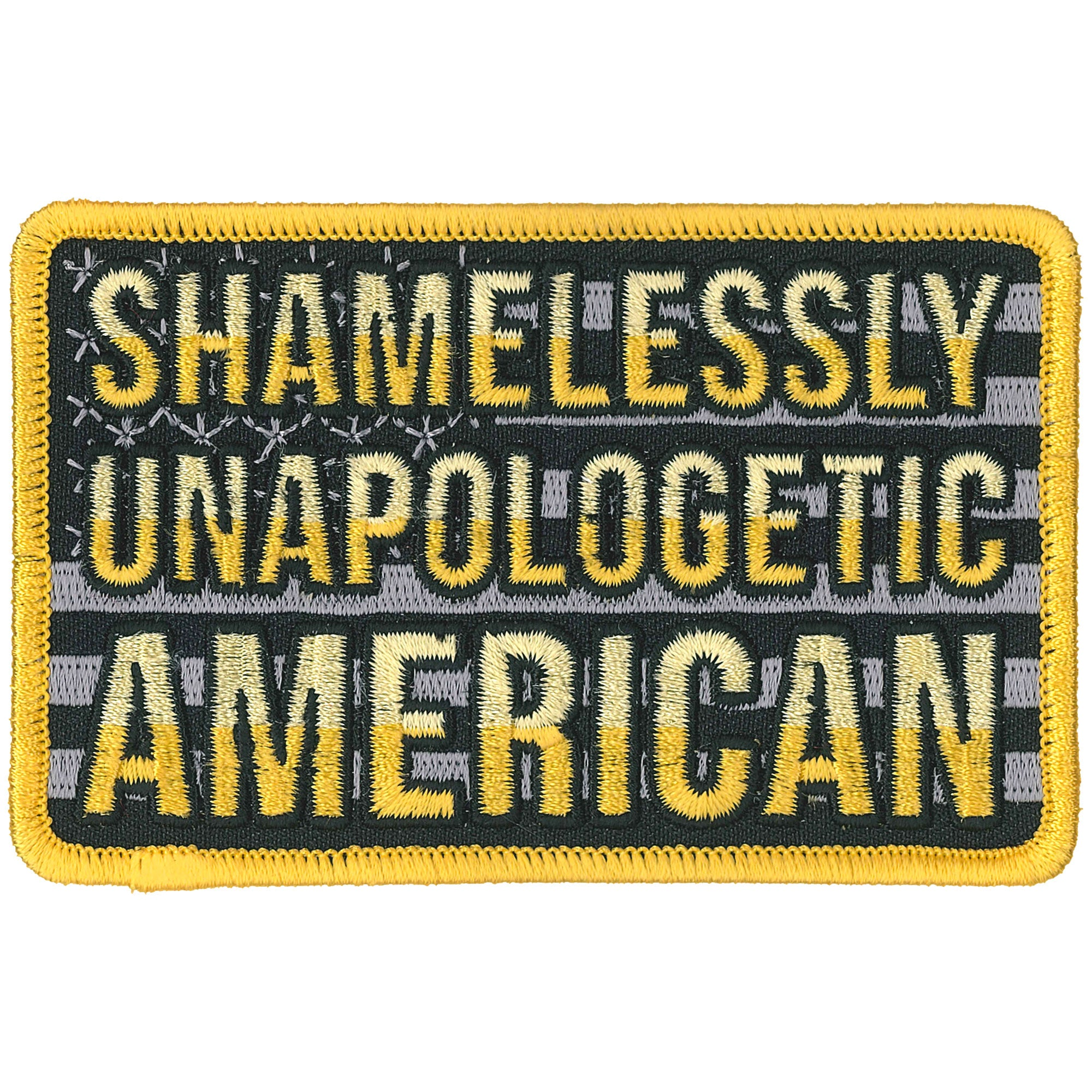 PATCH UNAPOLOGETIC FLAG