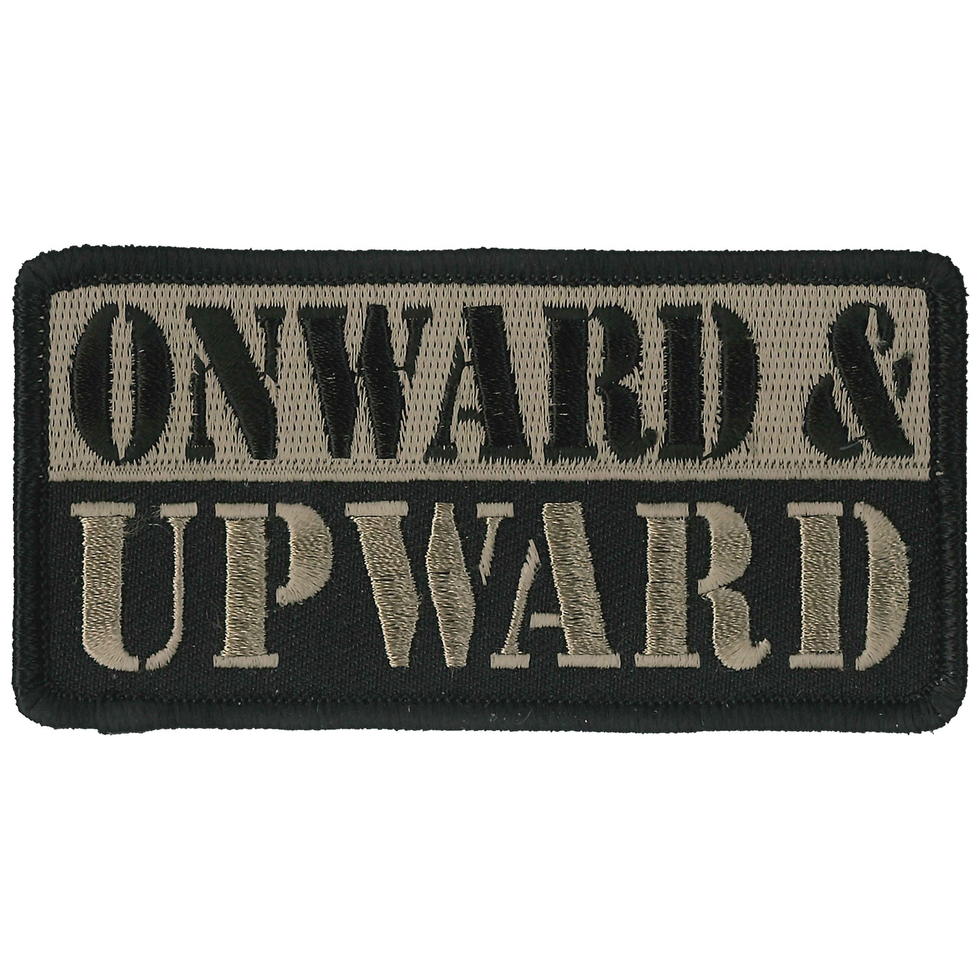 PATCH ONWARD AND UPWARD