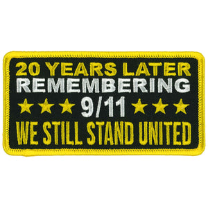 "Hot Leathers 9/11 Still United 4.5 "" Patch"