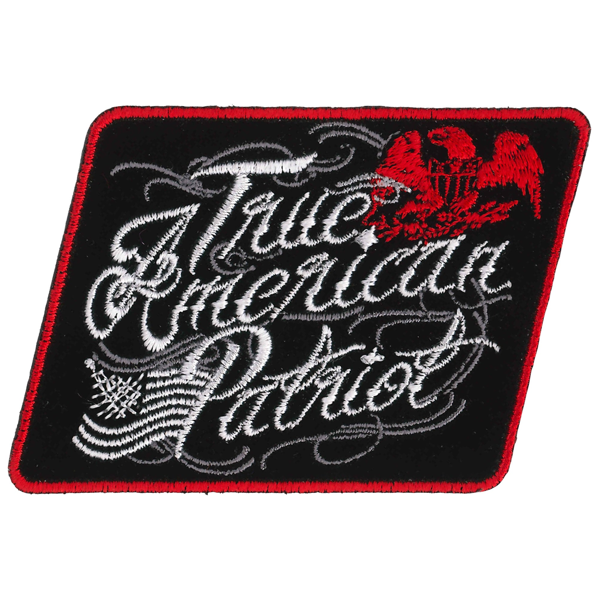 Hot Leathers Patch True American Patriot 3""