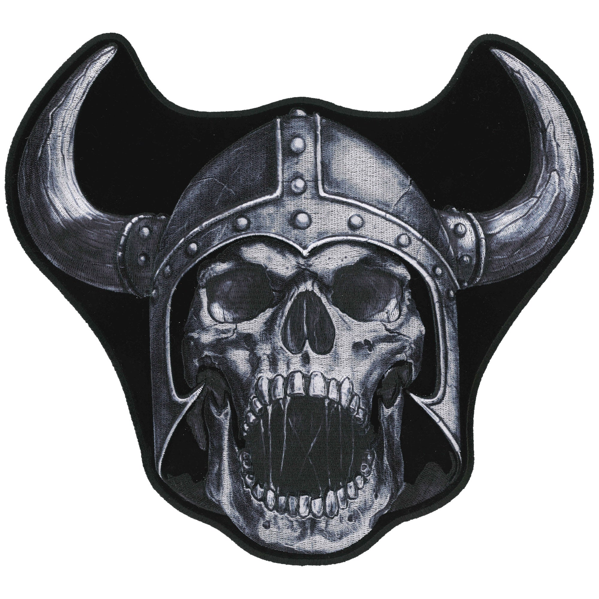 Hot Leathers Patch Viking Warrior 9""
