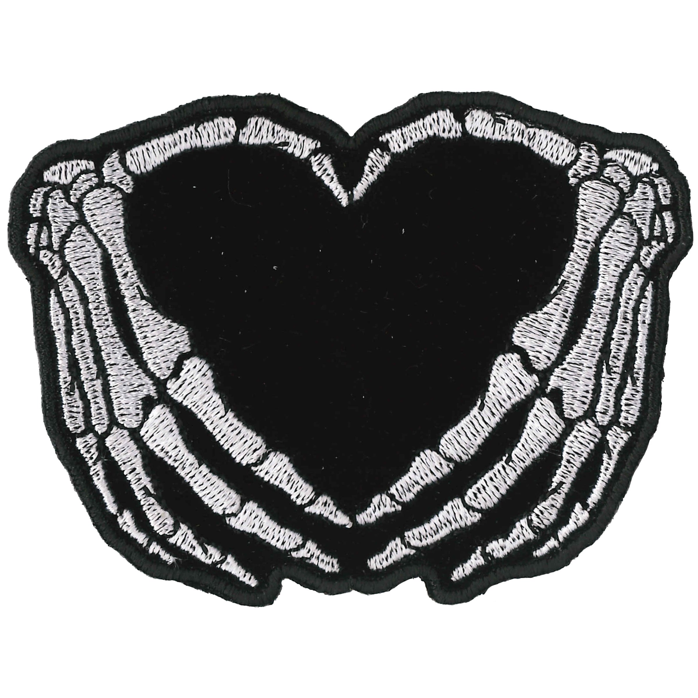 Hot Leathers Skeleton Heart 3.5""