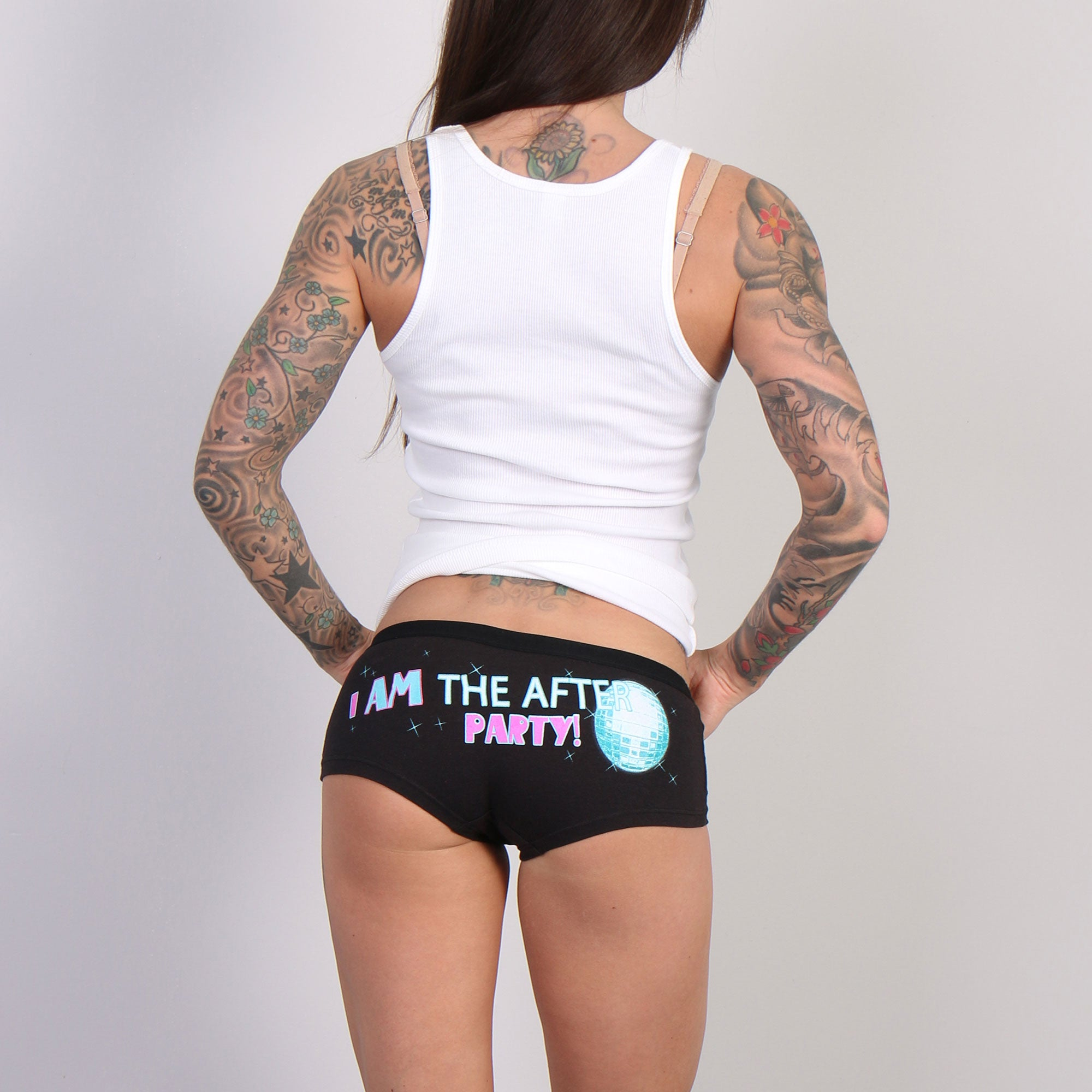 Hot Leathers I Am The After Party Ladies Boy Shorts