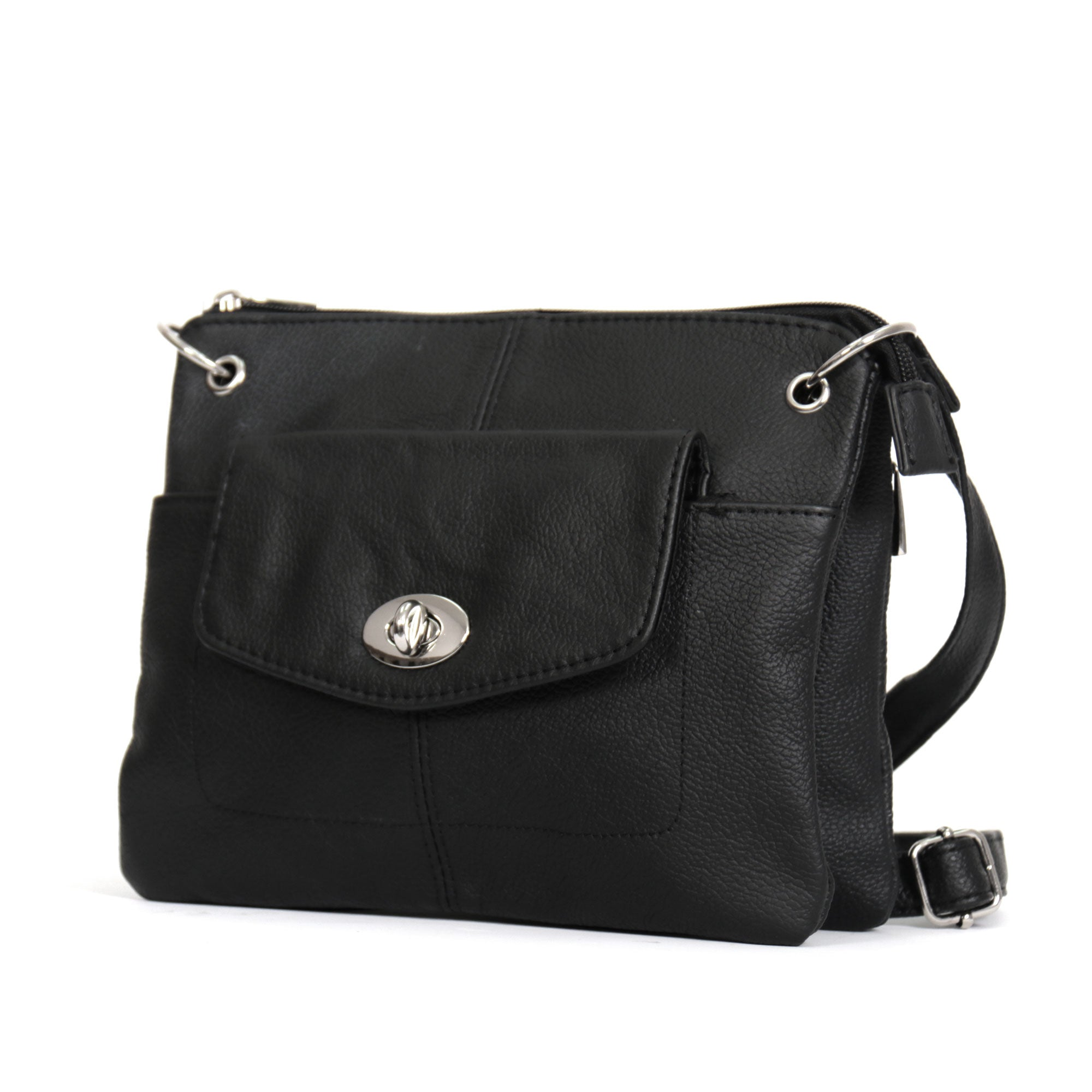 Hot Leathers Small Purse with Twist Lock