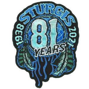 2021 Sturgis Motorcycle Rally Dream Catcher Patch