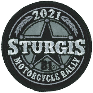 2021 Sturgis Motorcycle Rally Sheriff Badge Patch