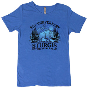 Sturgis 2021 Motorcycle Rally Camp T-Shirt