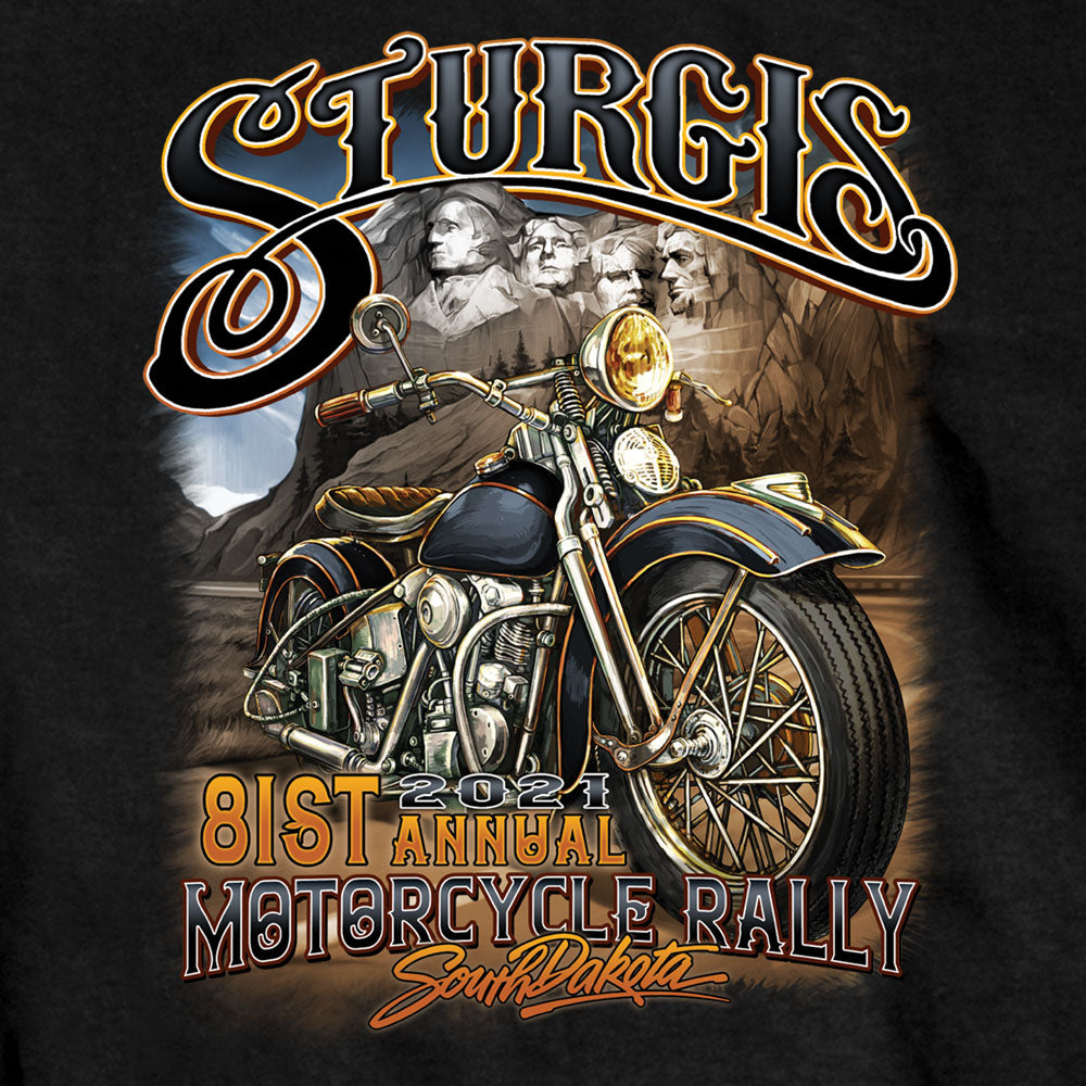 Sturgis 2021 Motorcycle Rally Rushmore T shirt