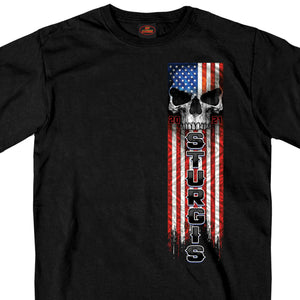 Sturgis 2021 Motorcycle Rally Patriot T shirt