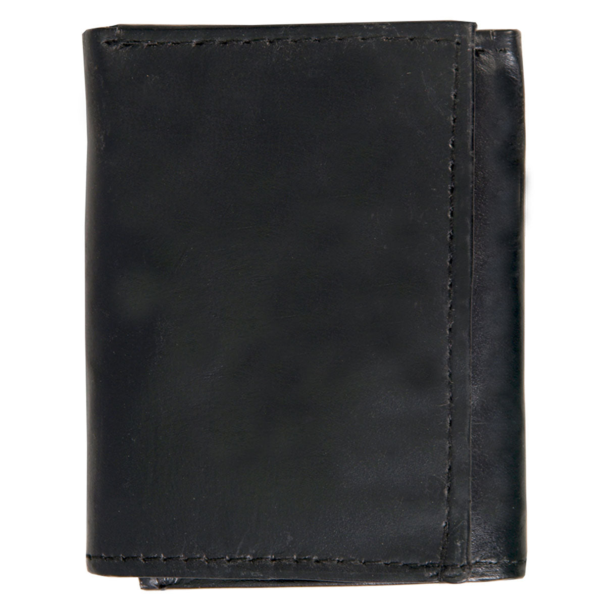 Hot Leathers Leather Tri-Fold Wallet