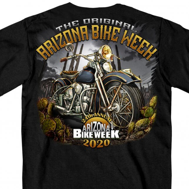 Official 2020 Arizona Desert Ride T-Shirt