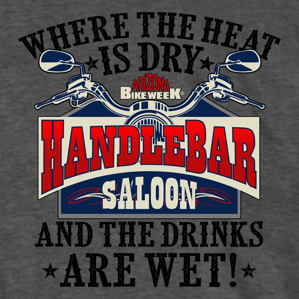 Official 2020 Arizona Bike Week Handlebar Saloon T-Shirt