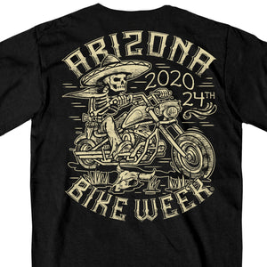 Official 2020 Arizona Bike Week Mexicali T-Shirt