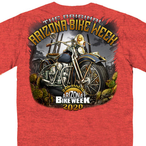 Official 2020 Arizona Bike Week Desert Ride T-Shirt