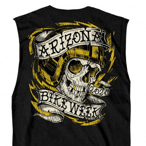 Official 2020 Arizona Bike Week Skull Tattoo Shooter