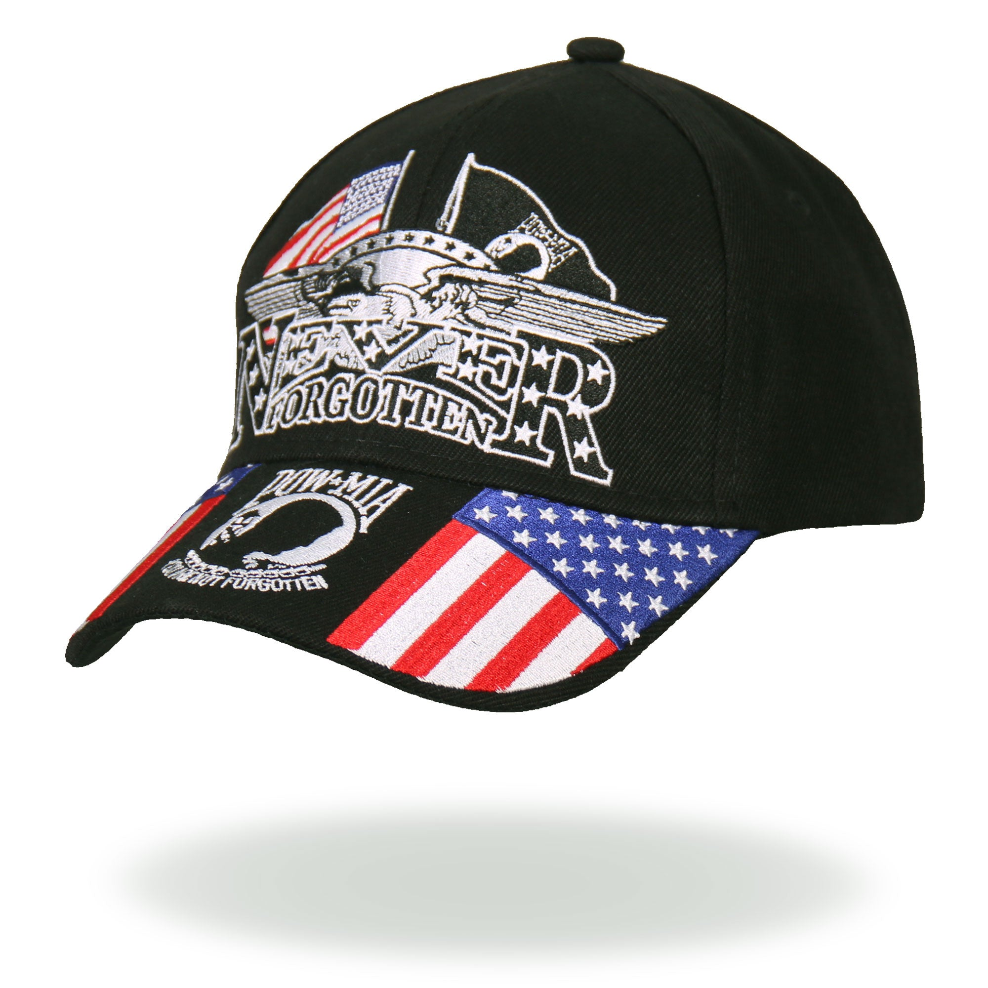 Hot Leathers Iron Eagle POW Ball Cap