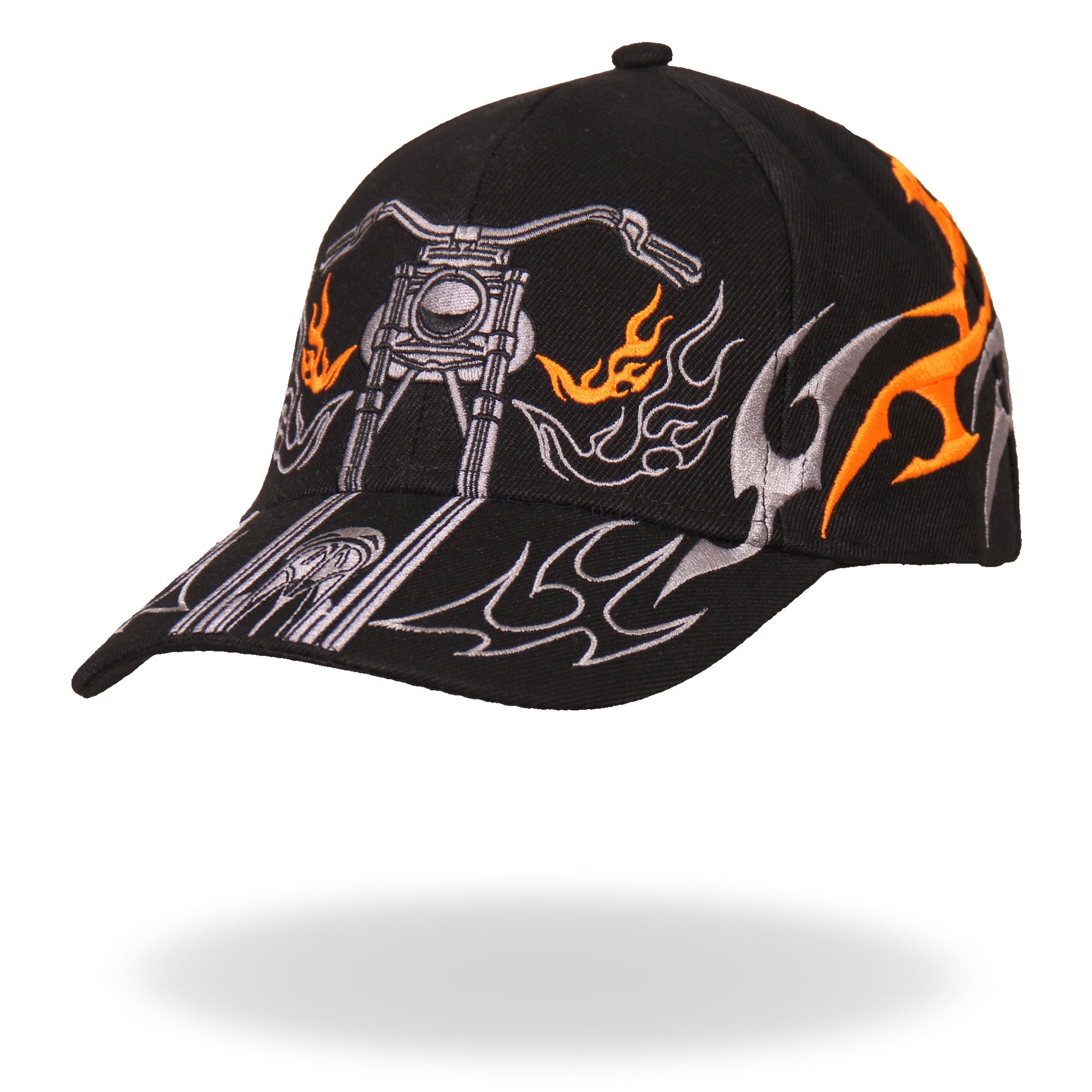 Hot Leathers Tribal Bike Ball Cap