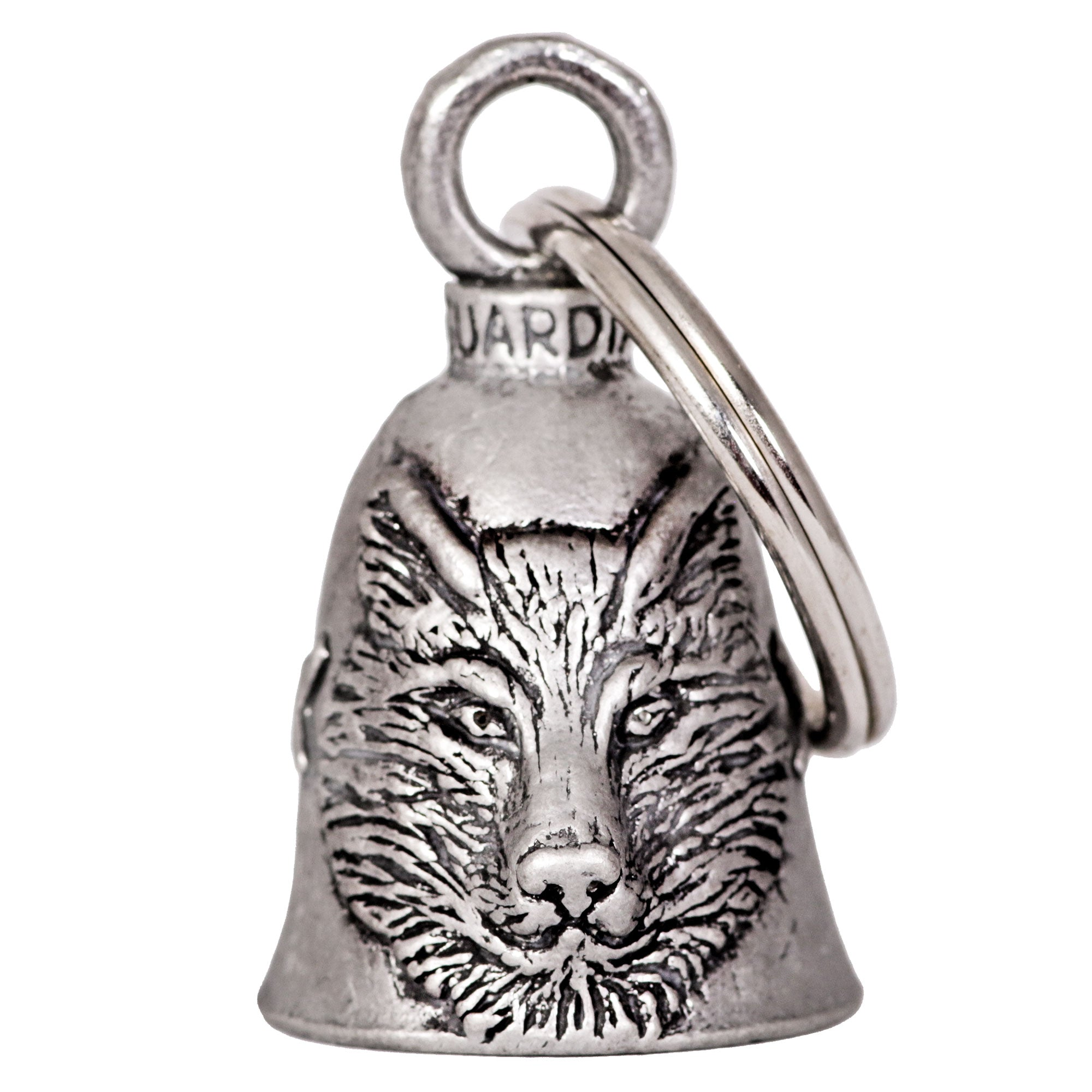 Hot Leathers Wolf Guardian Bell