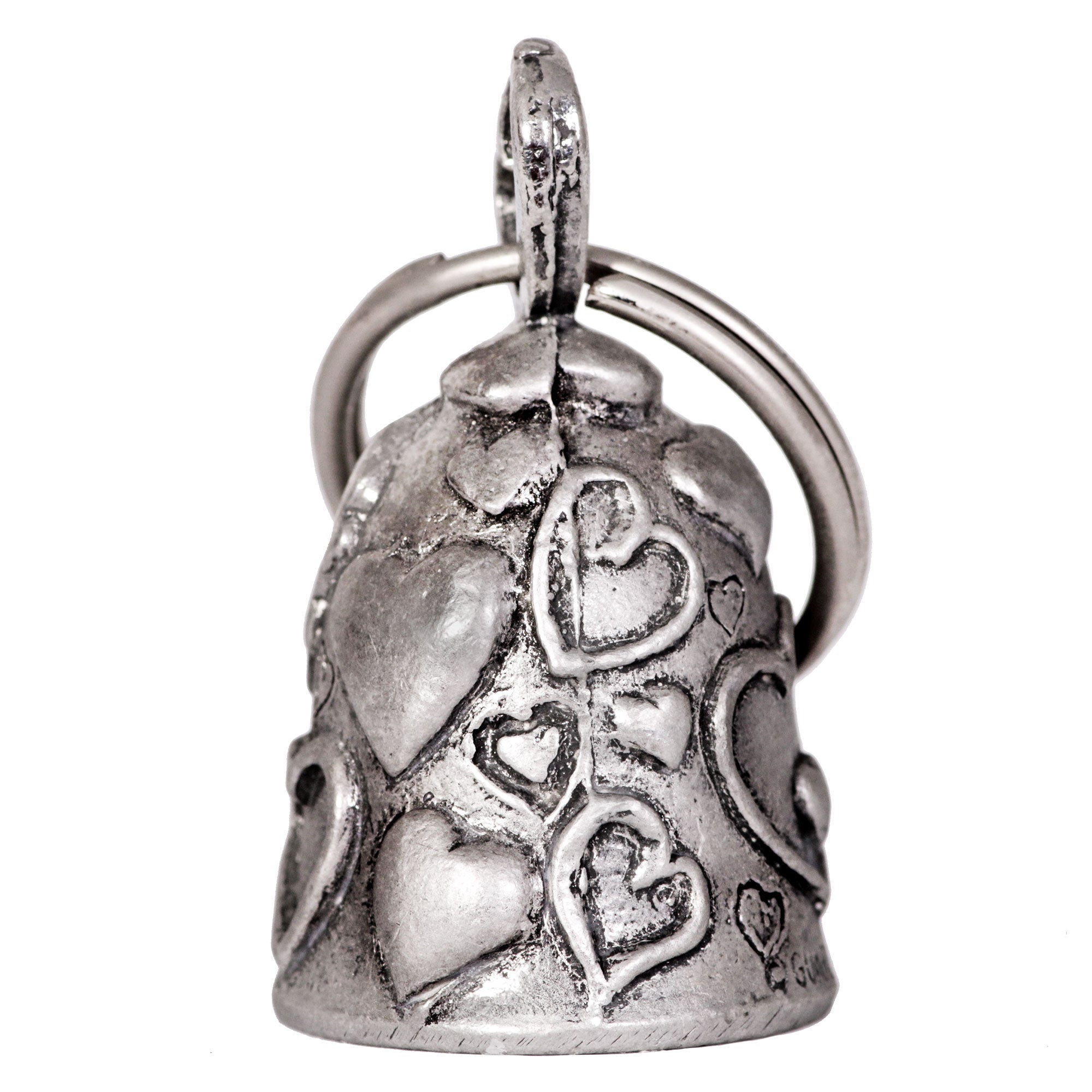 Hot Leathers Hearts Guardian Bell