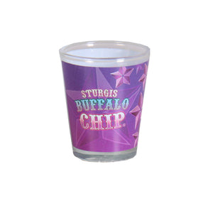 Official Sturgis Buffalo Chip Star Shot Glass