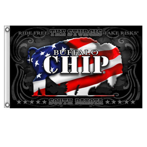 Official Sturgis Buffalo Chip Shadow 3' x 5' Flag