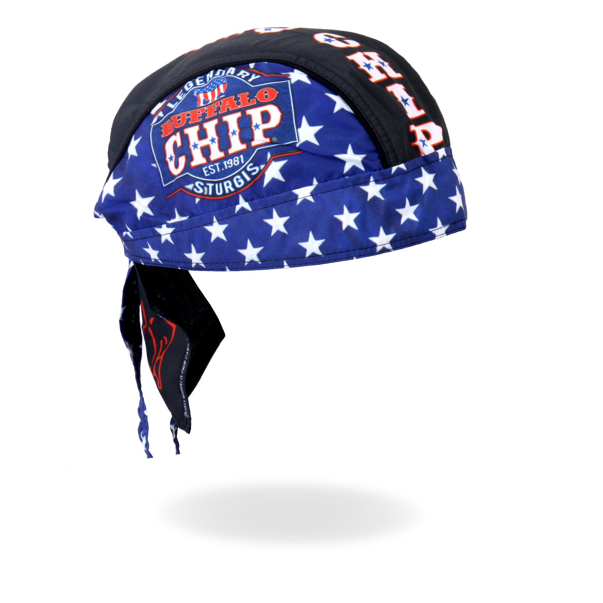 Official 2016 Buffalo Chip Flag Logo Headwear