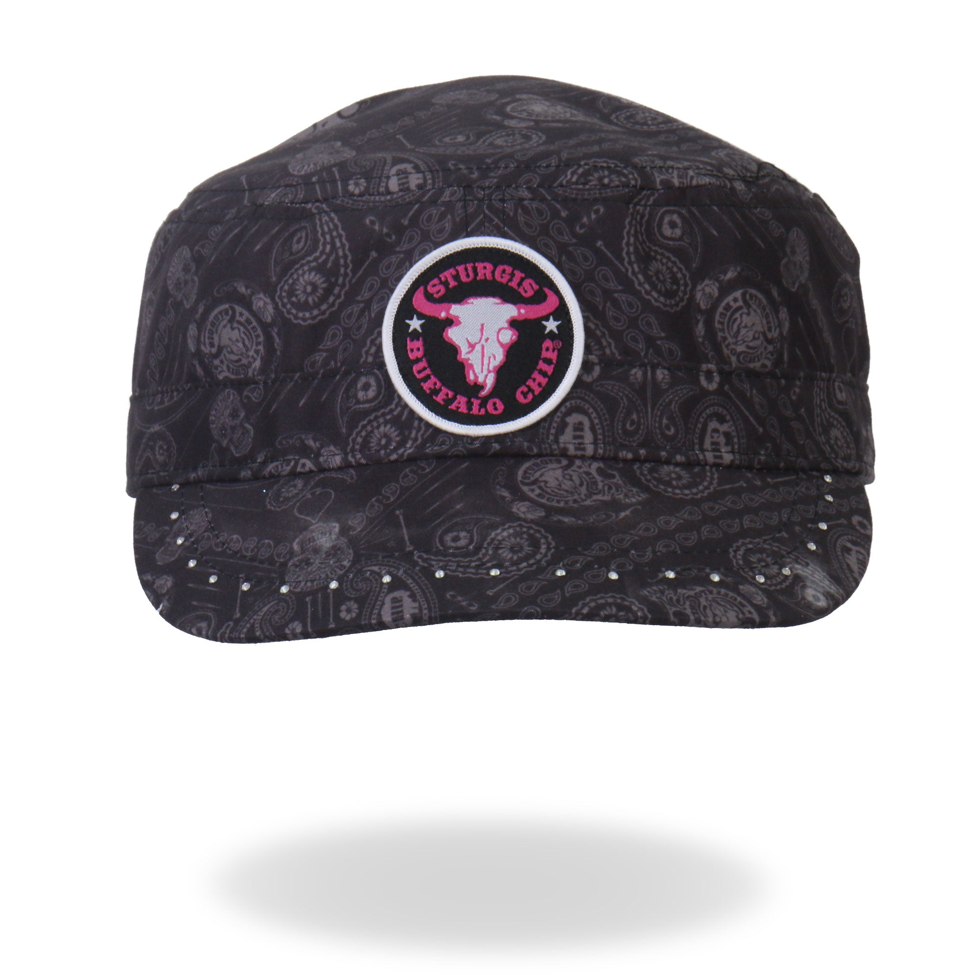 Official Sturgis Buffalo Chip Circle Logo Cadet Cap