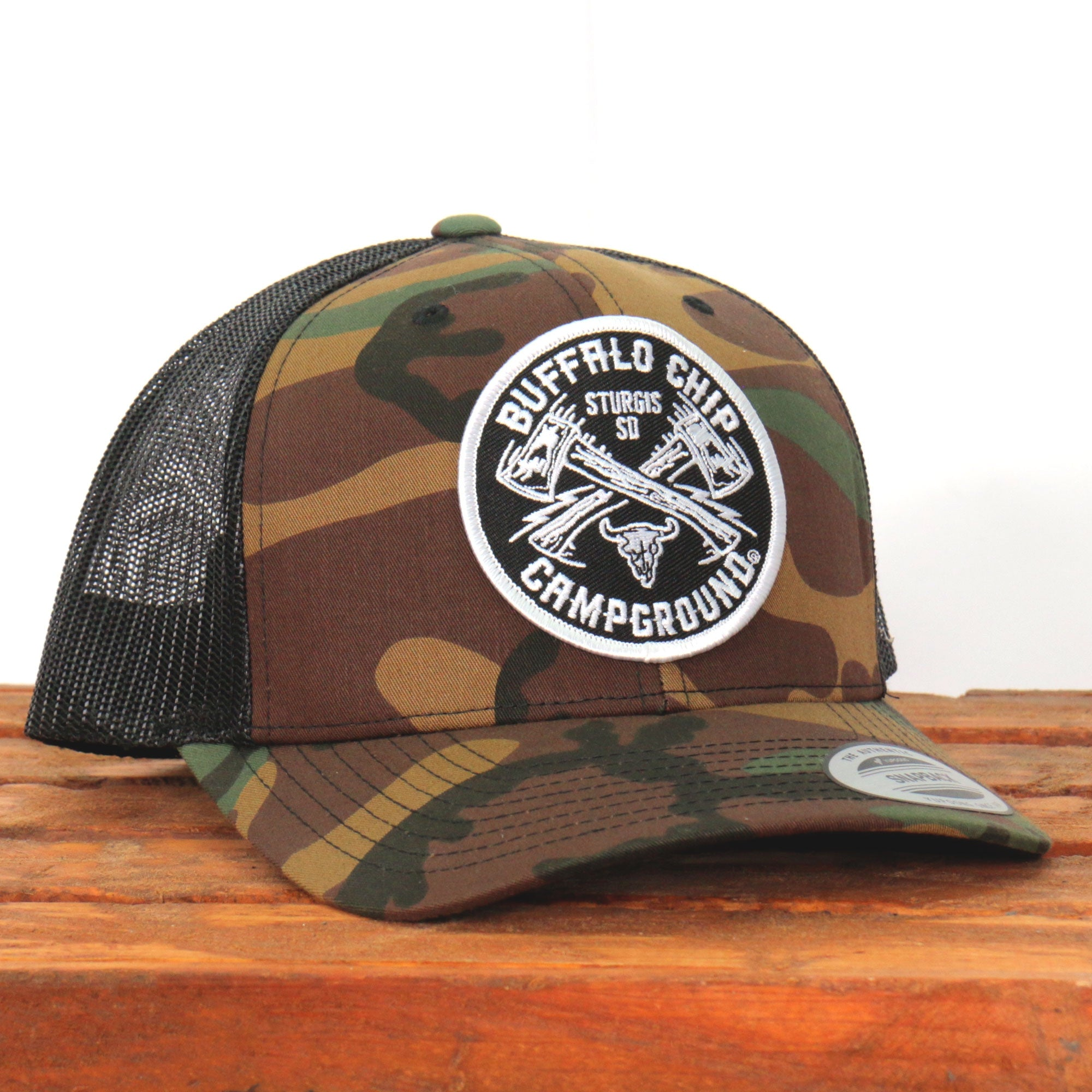 Official Sturgis Buffalo Chip Axe Snap Back Hat