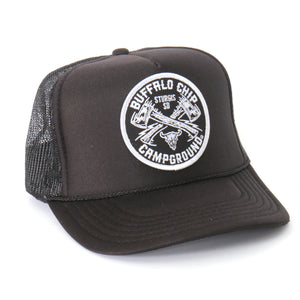 Official Sturgis Buffalo Chip Axe Snap Back Hat (Black)