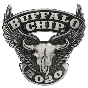 Official 2020 Sturgis Buffalo Chip Flying Buffalo Pin