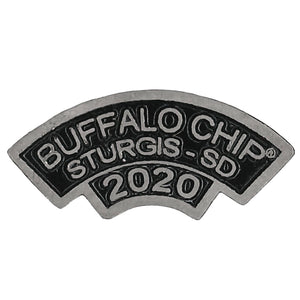 Official 2020 Sturgis Buffalo Chip Rocker Pin