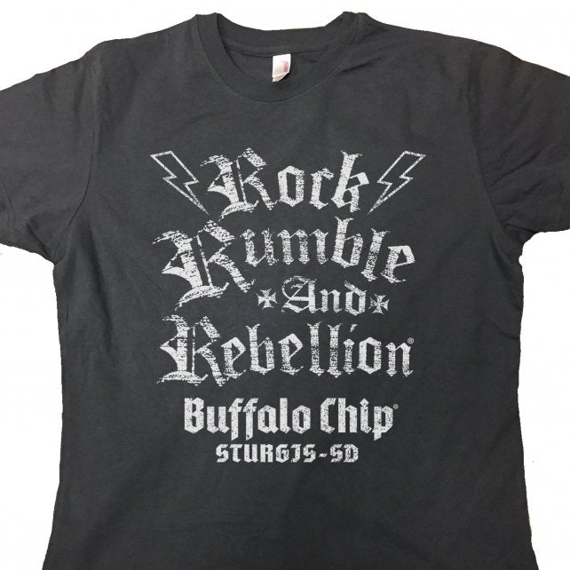 Official Sturgis Buffalo Chip Chalk V-Neck Hooded Ladies Raglan