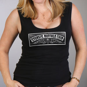 Official Sturgis Buffalo Chip Chopperville Lady Tank Top