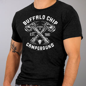 Official 2019 Sturgis Buffalo Chip Axe T-Shirt