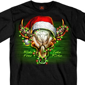 Official Sturgis Buffalo Chip Christmas T-Shirt