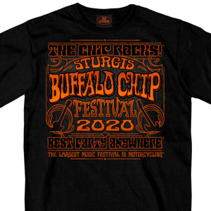 Official 2020 Sturgis Buffalo Chip Festival T-Shirt