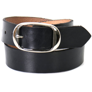 Hot Leathers Black Leather Belt
