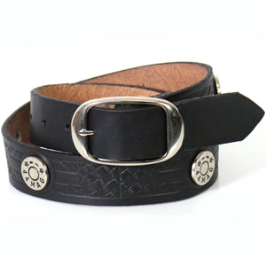 Hot Leathers 44 Mag Studded Leather Belt