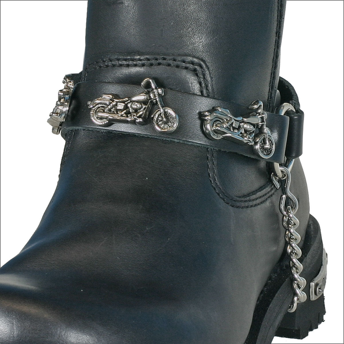 Hot Leathers Motorcycle Boot Chain
