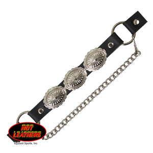 Hot Leathers Concho Boot Chain