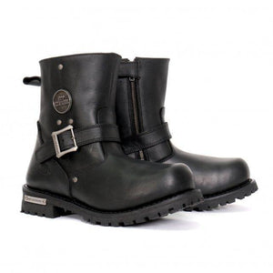"Hot Leathers Men's 8"" Round Toe Engineer Boots"
