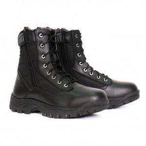Hot Leathers Military Style W/ Side Zip Boot