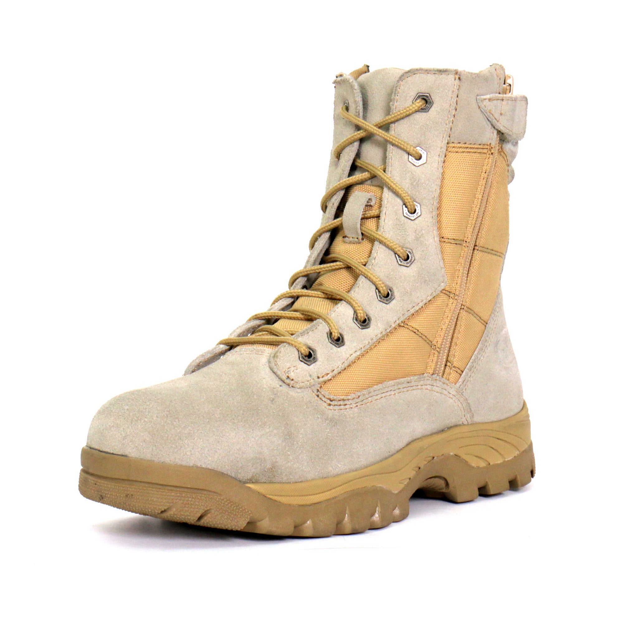 Hot Leathers Military Desert Tan Boots